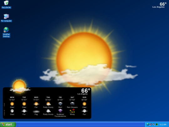 Desktop Weather Wallpaper 723 Screensavers and Wallpaper 540x405
