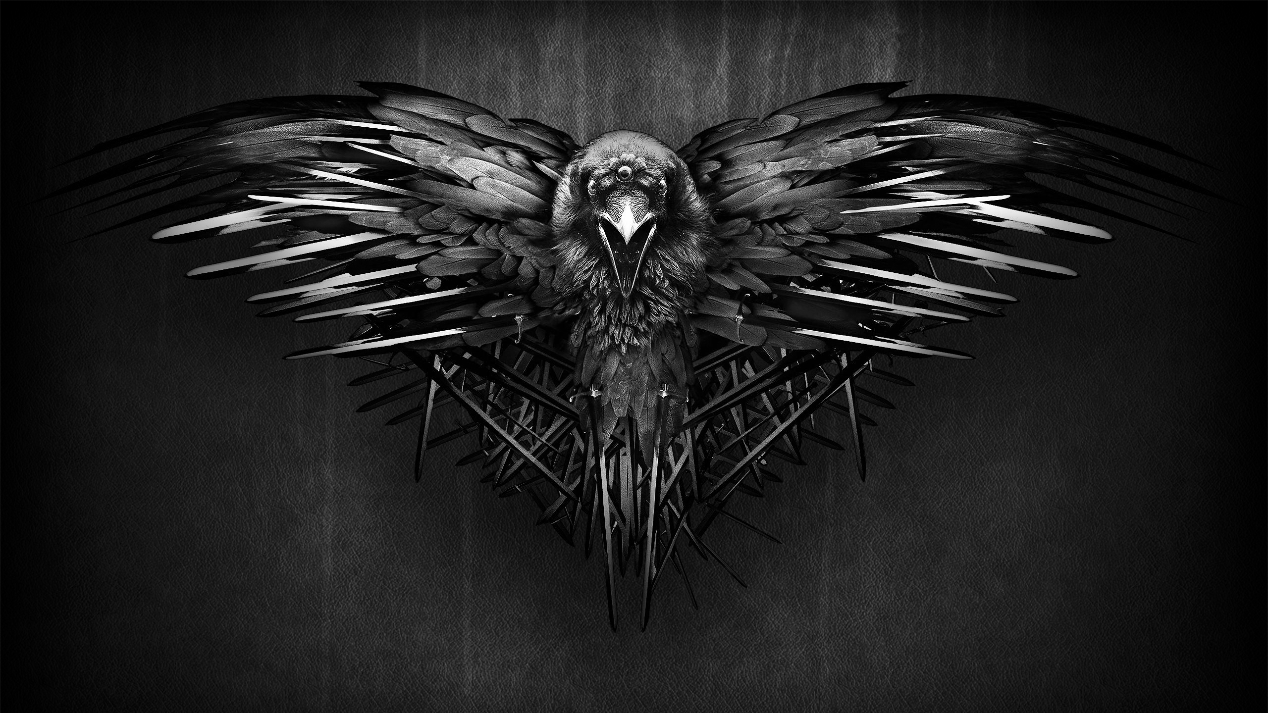 No Spoilers] Raven Wallpaper With Dark Background gameofthrones 2560x1440