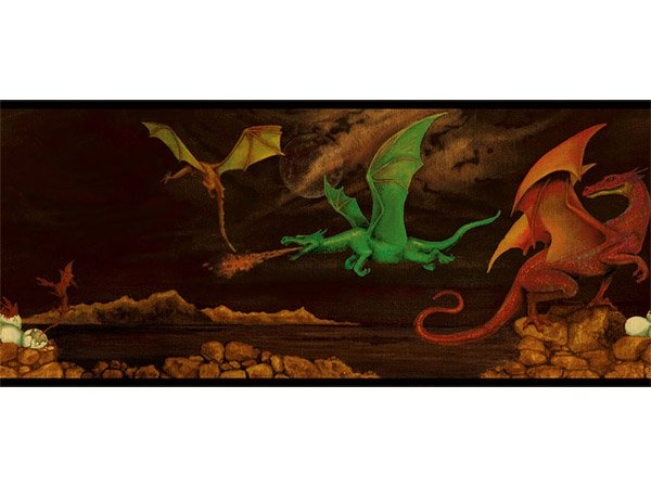 wallpaper border chinese dragon 600x450