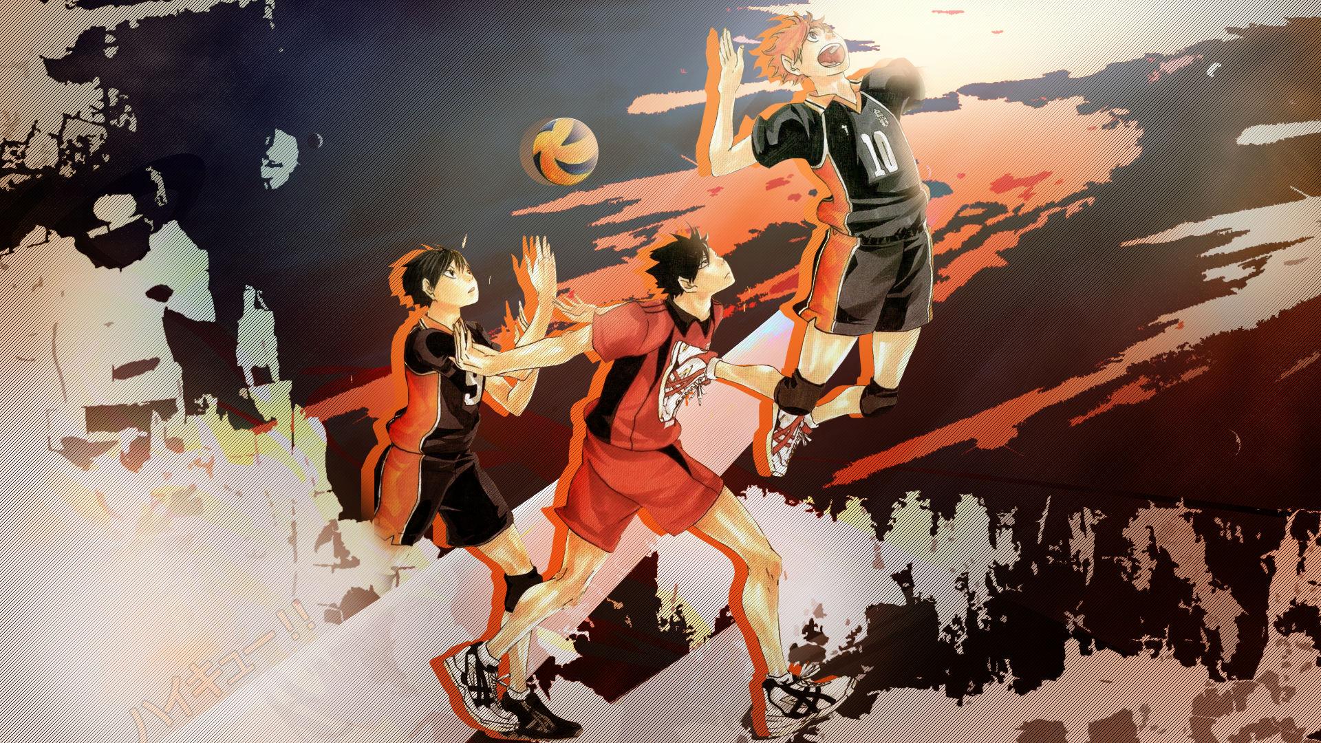 Haikyuu Anime HD Wallpaper Haikyuu anime Anime artwork 1920x1080