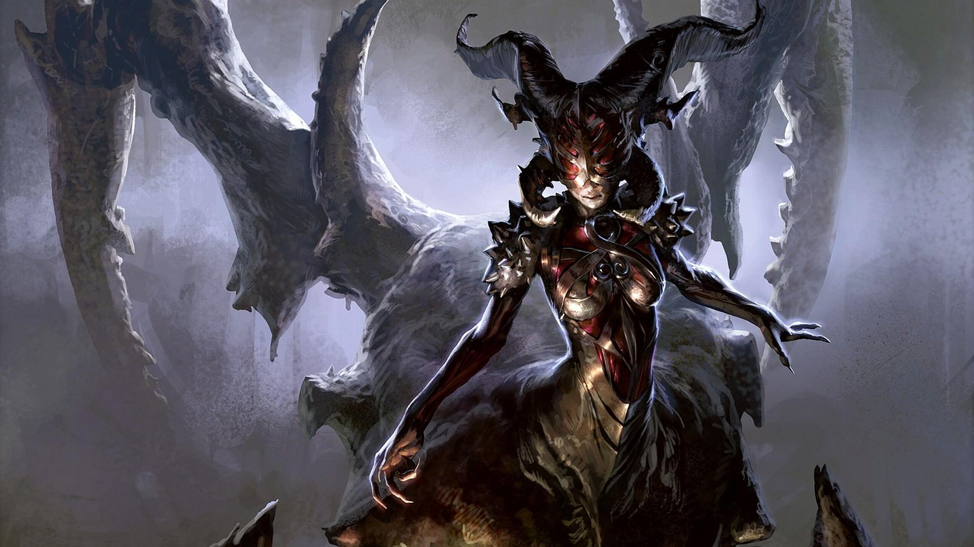Female Demon Wallpaper  WallpaperSafari
