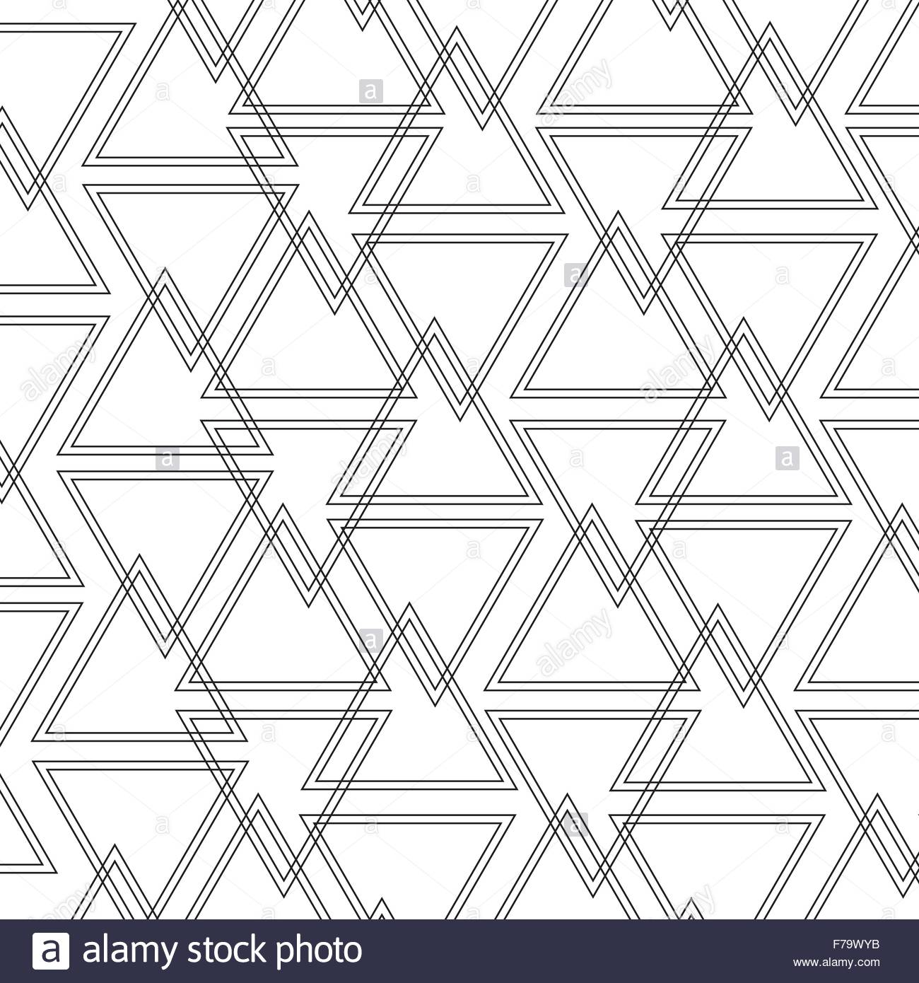 Triangle outline pattern background Stock Vector Art 1300x1390