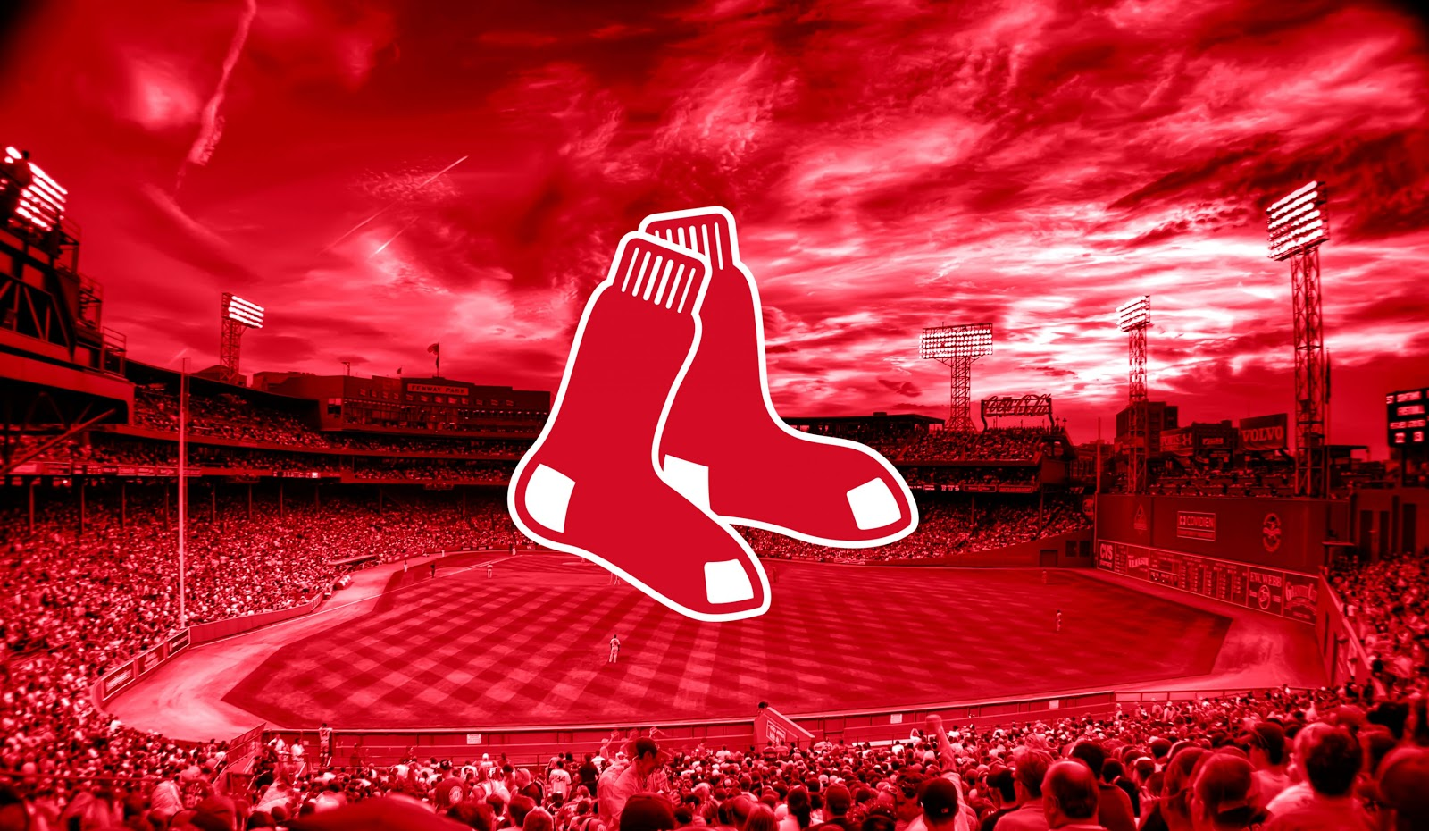 Boston Red Sox Hd Background Wallpaper Wallpapers Ninja 1600x930