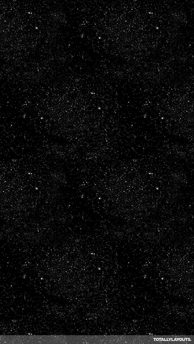 Starry Night Sky iPhone Wallpaper   Black White Wallpapers 640x1136