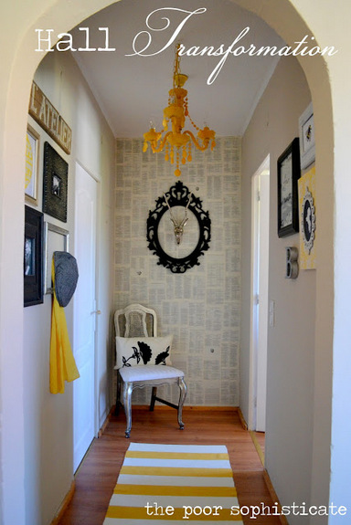 the poor sophisticate DIY Epic 2 Removable Wallpaper and Paste 384x575