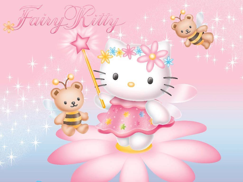 Hello Kitty Wallpaper Pink   Wallpaper High Definition 1024x768
