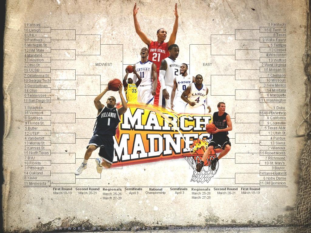 march madness wallpaperjpg 1024x768