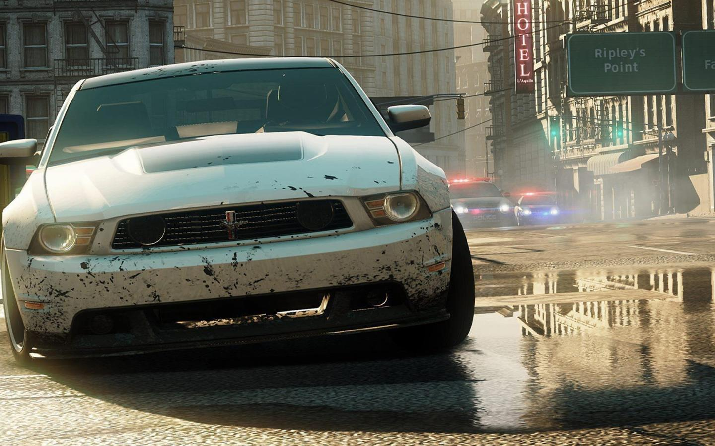 Ford mustang need for speed most wanted wallpaper 43872 1440x900