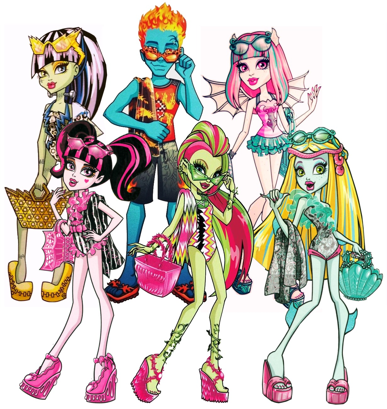 Monster High images MH plage HD fond dcran and background photos 1230x1299