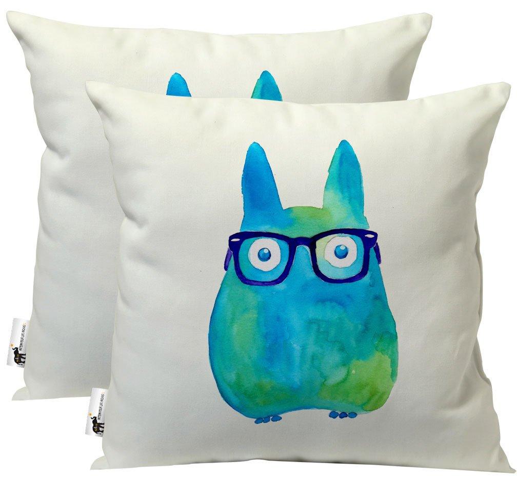 Amazoncom Unique Trotro Handmade Outdoor Throw Pillows   Set Of 1008x936