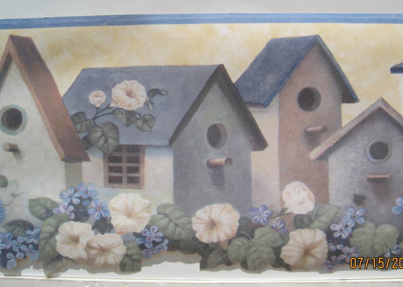 BIRD HOUSE Bird Houses wallpaper border borders 6 eBay 800x570