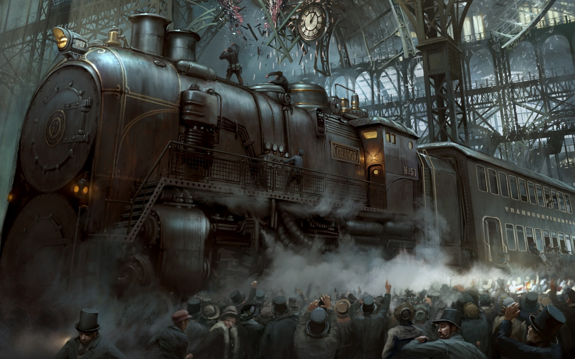 Steampunk Computer Wallpapers Desktop Backgrounds 1920x1200 ID 1920x1200