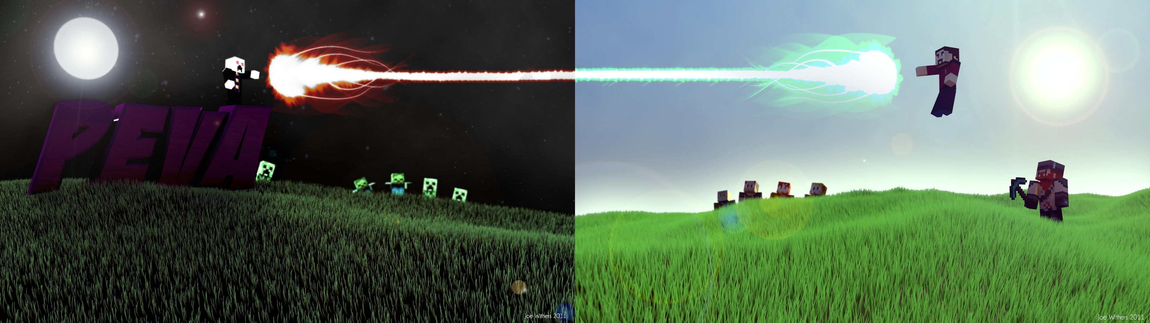Minecraft Wallpapers For Walls 3840x1080