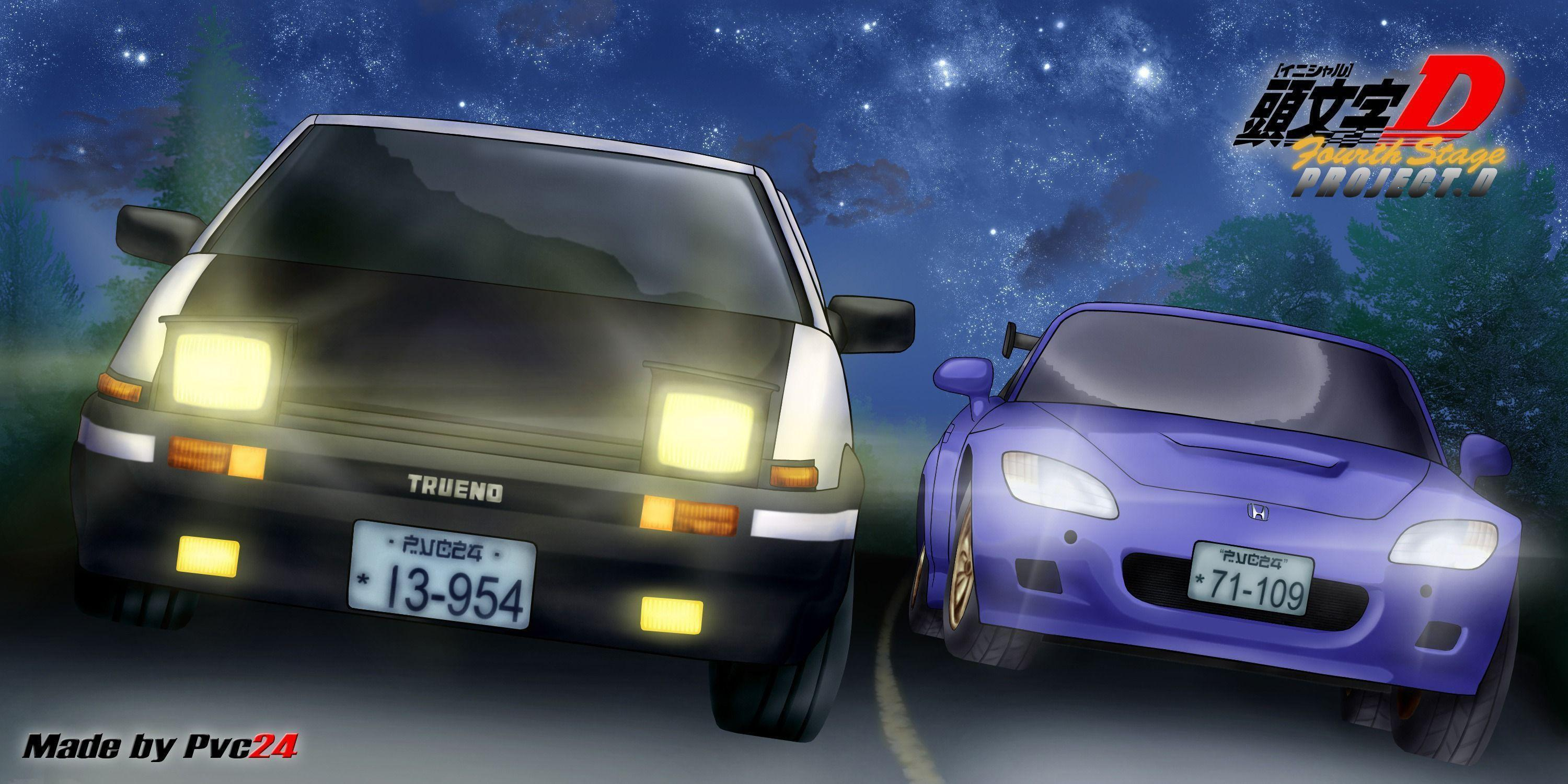 Wallpapers Initial D 3000x1500