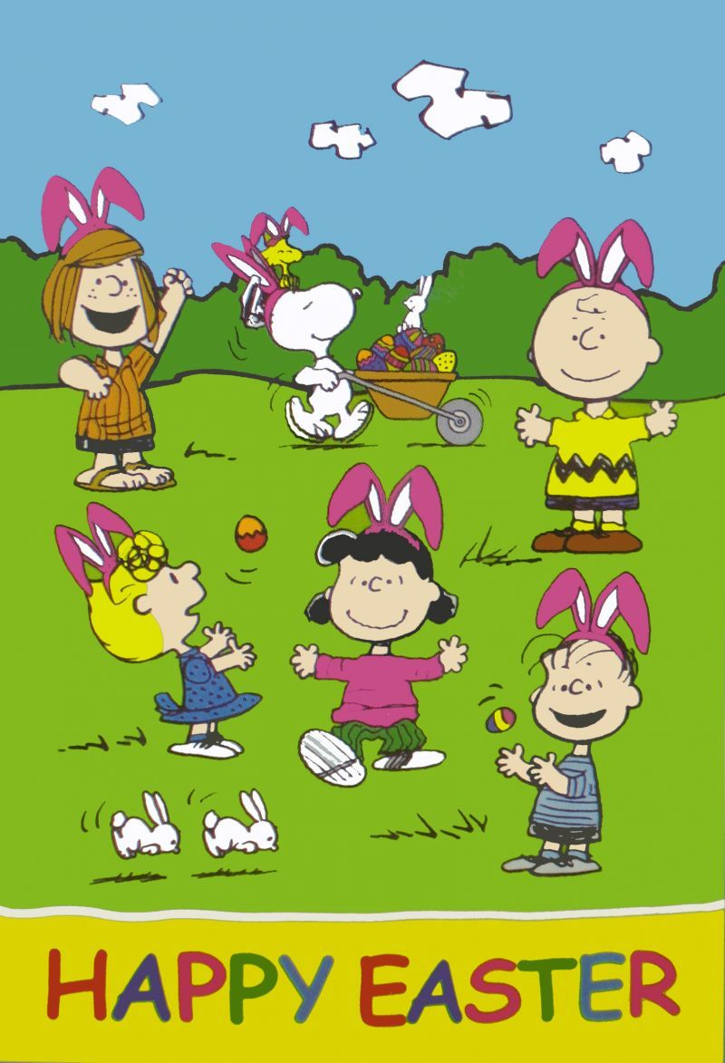 Peanuts Easter Wallpaper Easter snoopy wallpaper easter Snoopy 800x1173