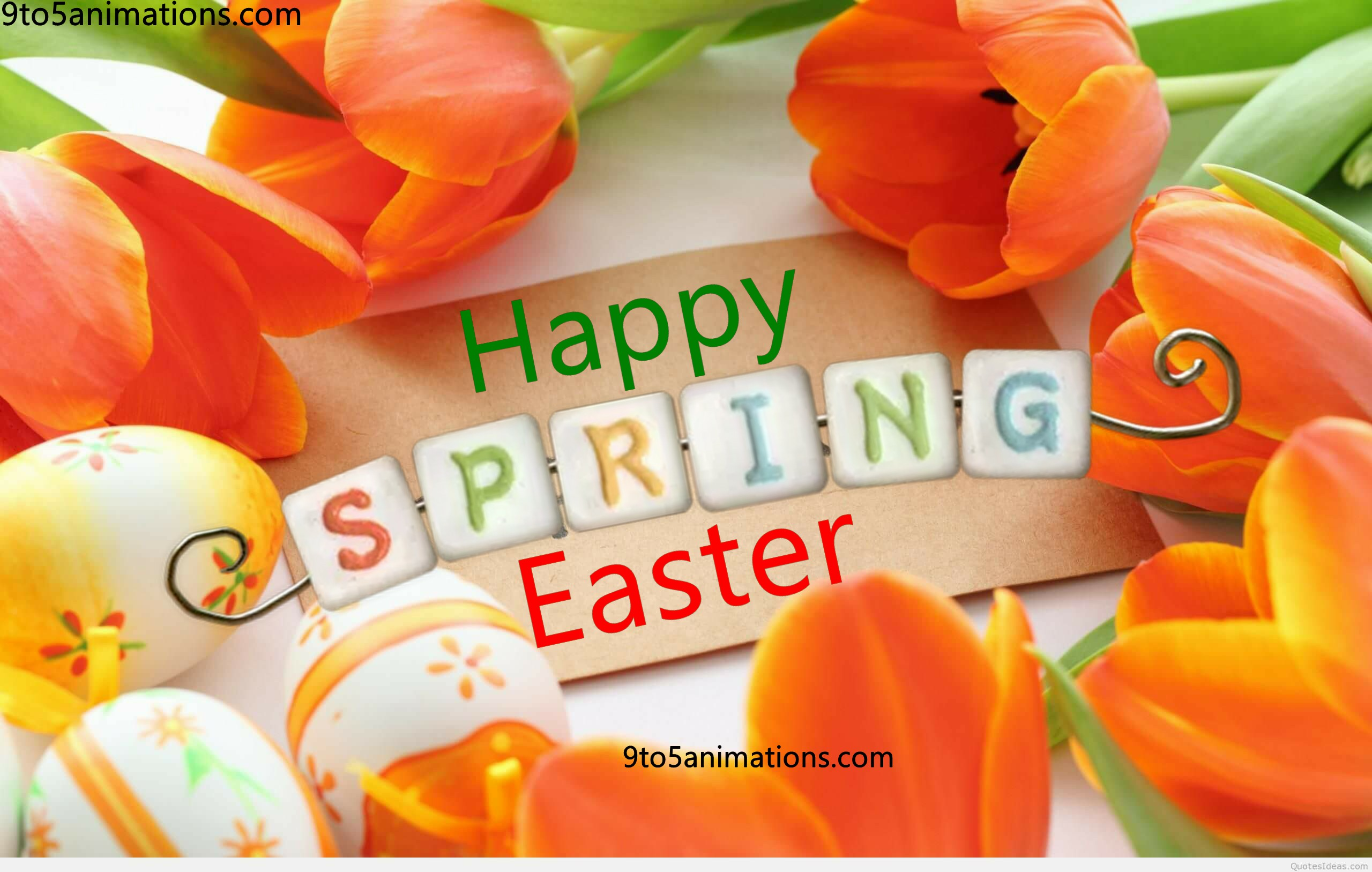 2018 Easter Wallpapers 9To5AnimationsCom 2560x1627