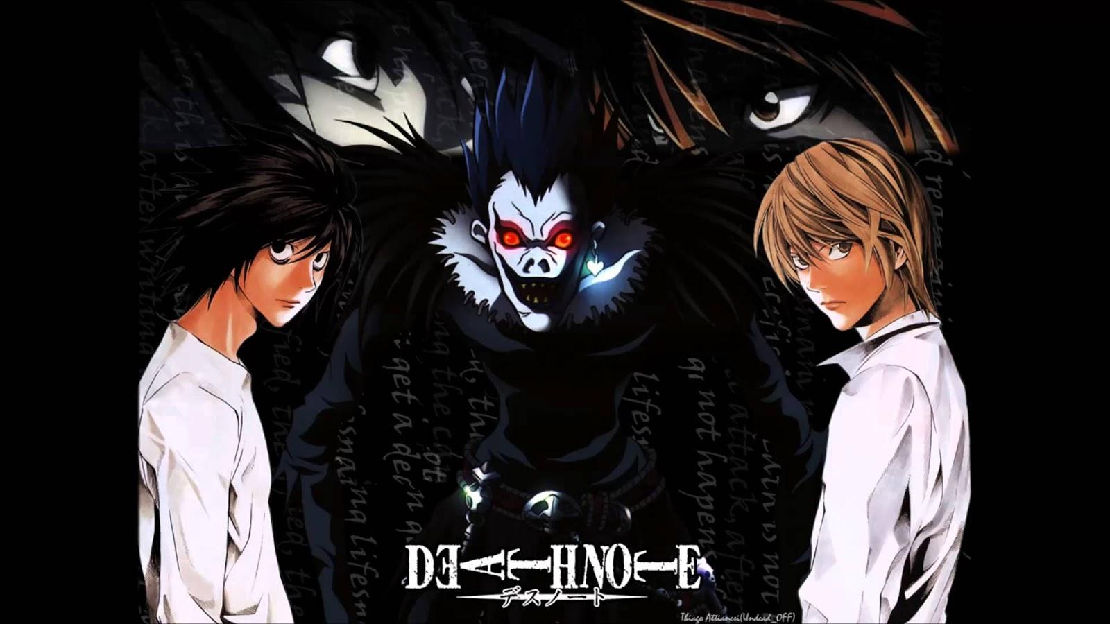 L Death Note Wallpaper HD