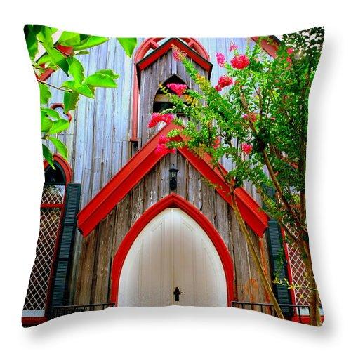 Back to Lisa Wooten Shop Throw Pillows Church Of The Cross Throw 500x500