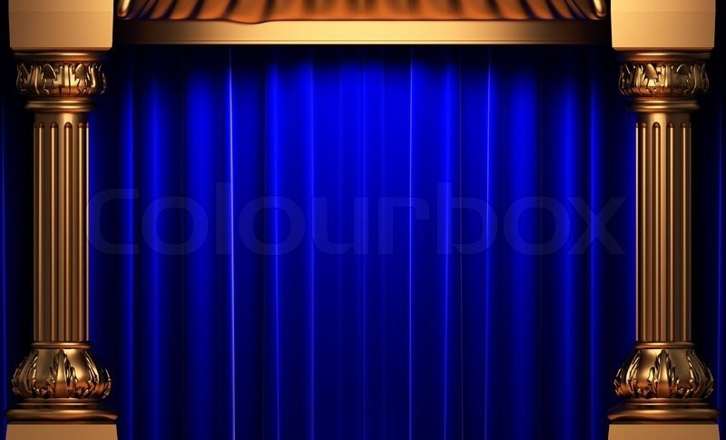 46 Royal Blue And Gold Wallpaper On Wallpapersafari