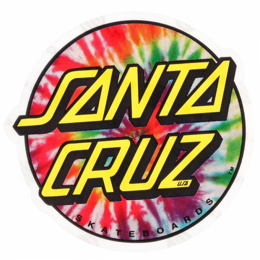 Free Download Santa Cruz Skateboards Santa Cruz Tie Dye Dot