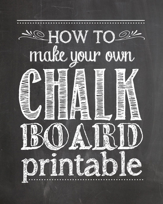How to Make Your Own Chalkboard Printables   How to Nest for Less 550x688