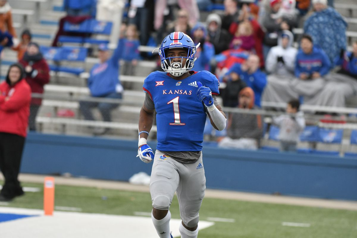 Kansas Jayhawks Football Pooka Williams Reinstated   Rock Chalk Talk 1200x800