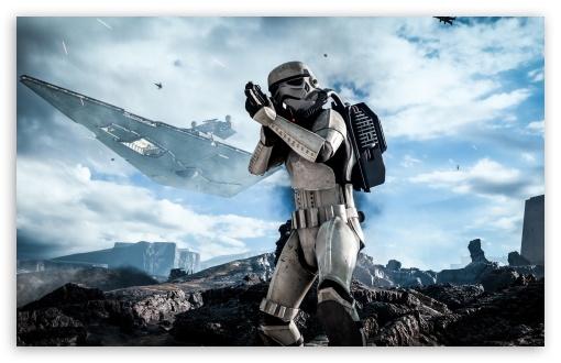 Star Wars Battlefront Stormtrooper HD desktop wallpaper Widescreen 510x330