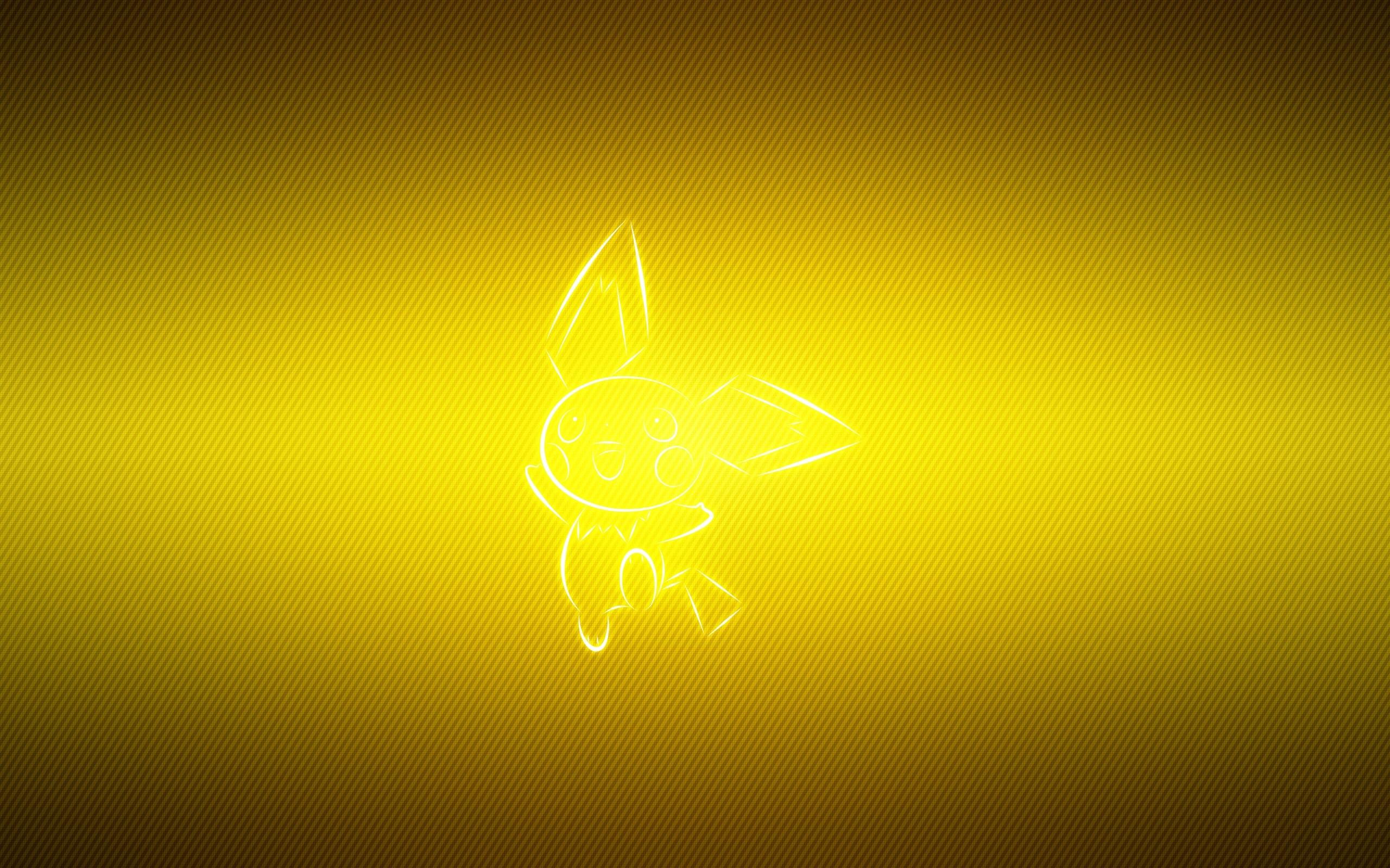 Pokemon Yellow Pichu   Stock Photos Images HD Wallpaper HD 2560x1600