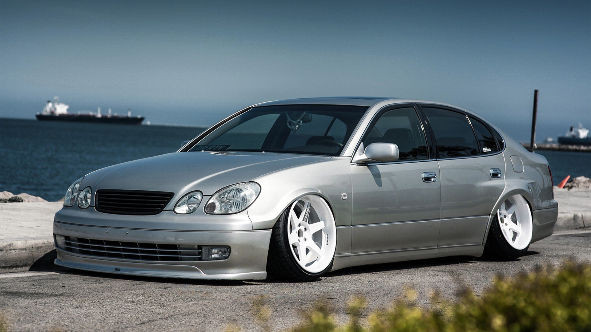 Cars Lexus GS300 Slammed Lexus GS wallpaper 1920x1080 319487 1920x1080