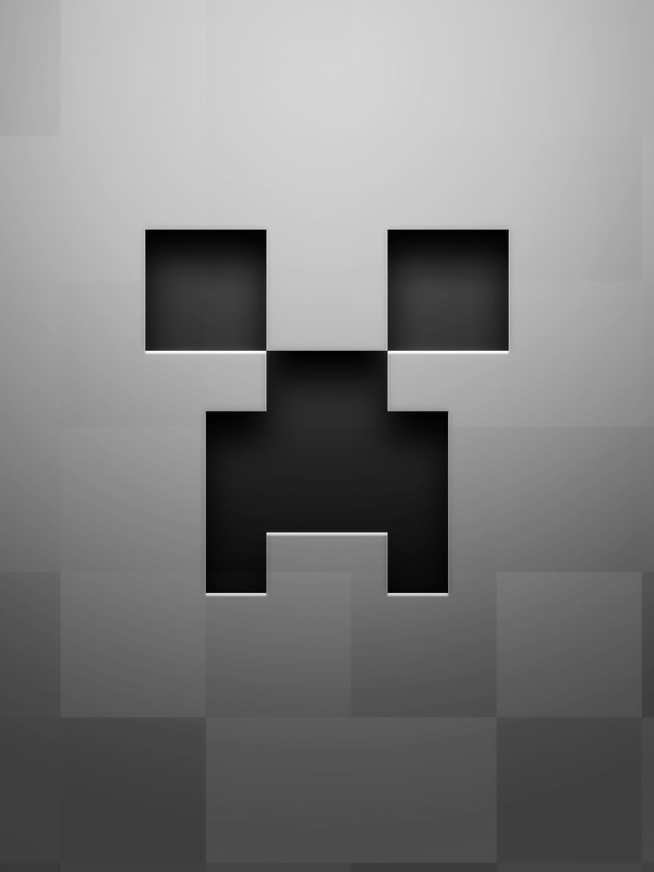 Wallpapers Sad Minecraft Creeper Screensaver For Amazon Kindle 3 600x800