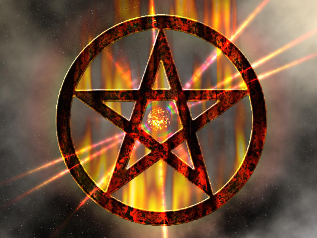 Wiccan Pentagram Wallpaper PicsWallpapercom 1024x768