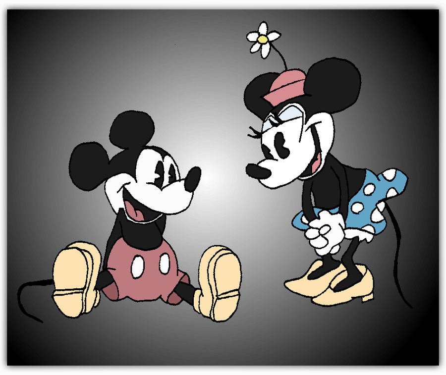 Free Download Mickey And Minnie Mouse Vintage Wallpaper