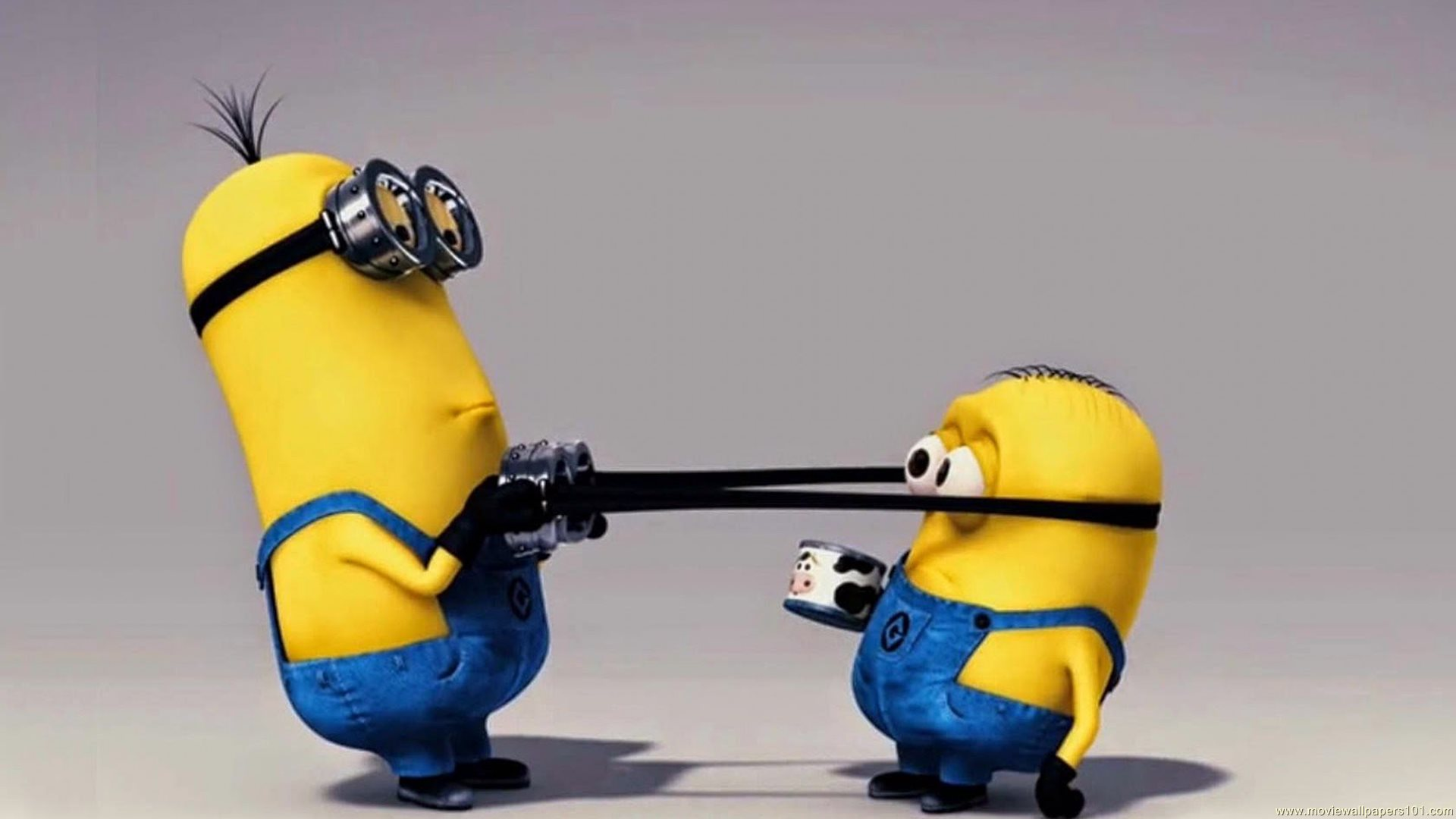 Download Minions Kevin And Bob Funny Cartoon HD Wallpaper Search more 1920x1080
