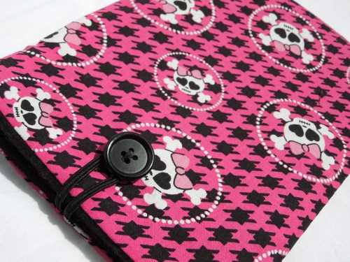 kindle fire sleeve case cover kindle cover nook ereader cover pink 500x375