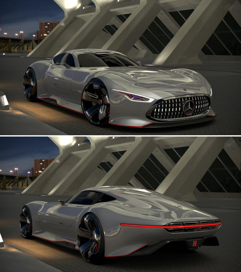 Mercedes Benz AMG Vision Gran Turismo by GT6 Garage on 1024x1158