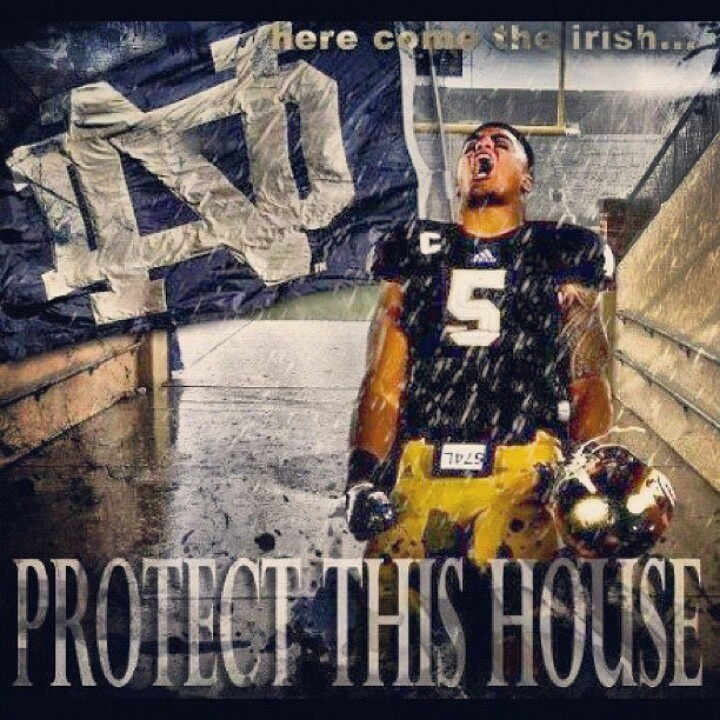 Protect This House Notre Dame Football   Wallpapers Pinterest 720x720