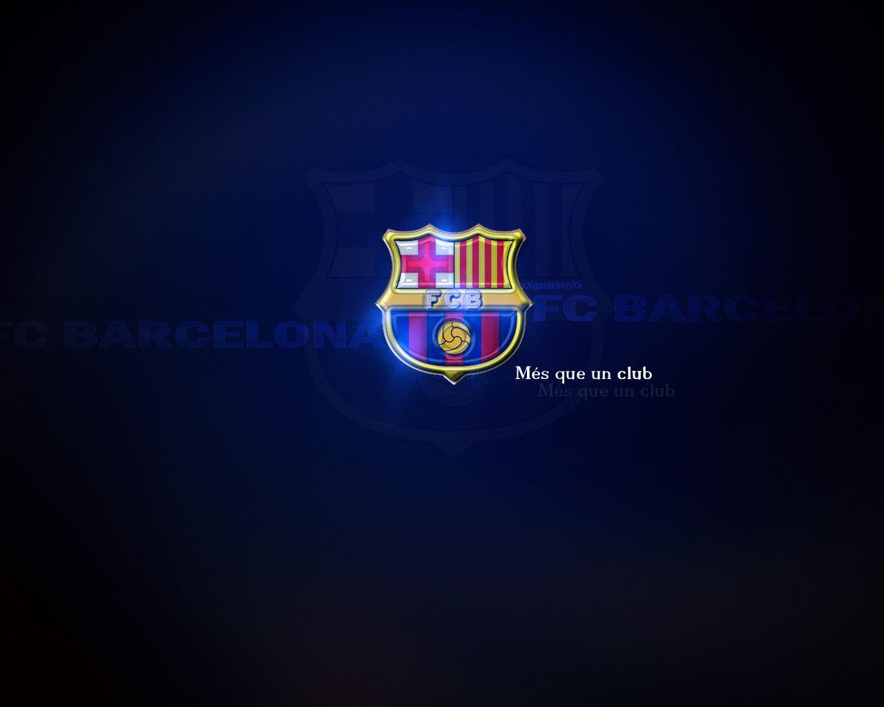 FC Barcelona Logo Wallpaper   FC Barcelona Wallpaper 22614331 1280x1024