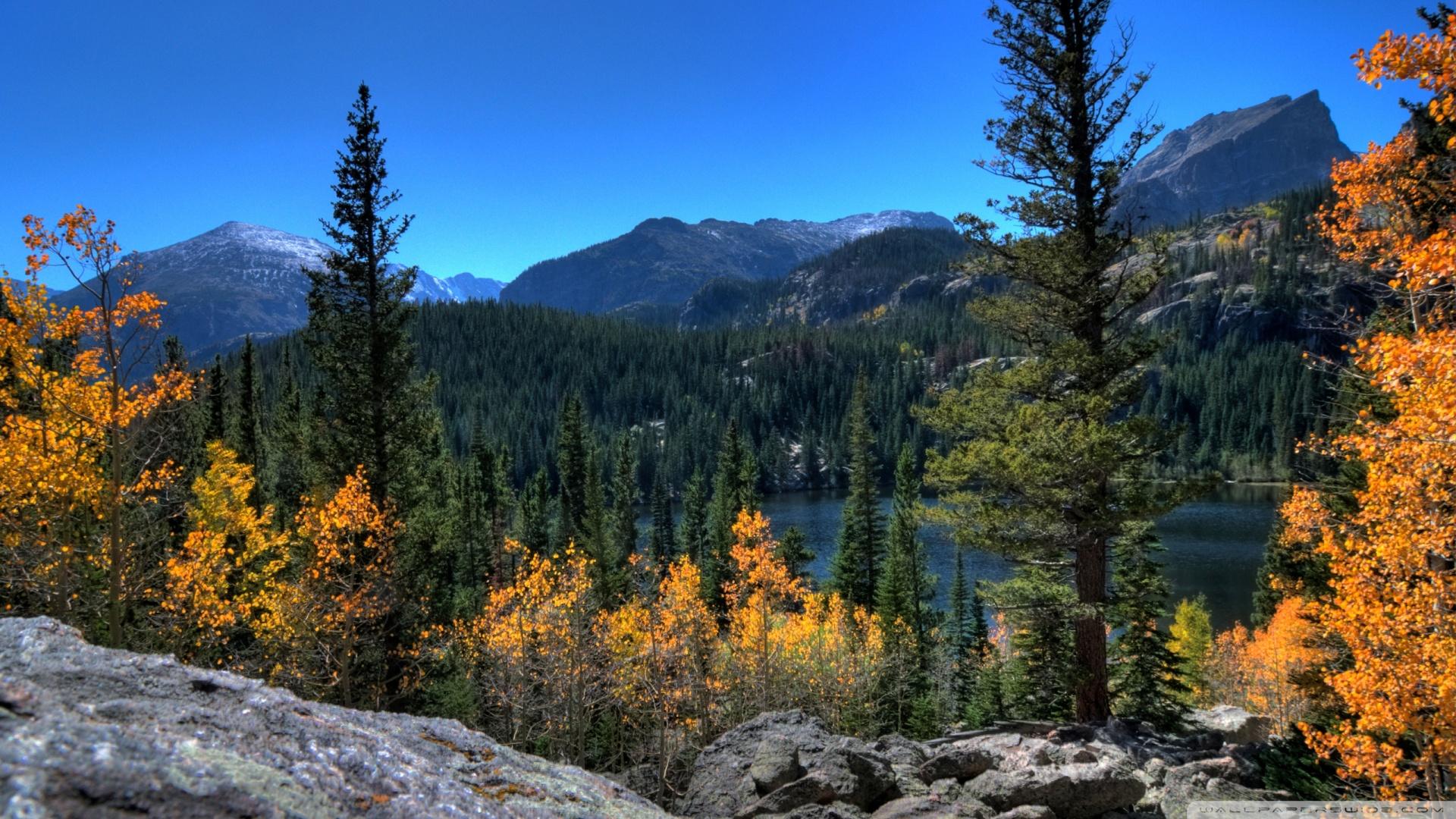 Bear Lake Rocky Mountain National Park Colorado Wallpaper 1920x1080 1920x1080