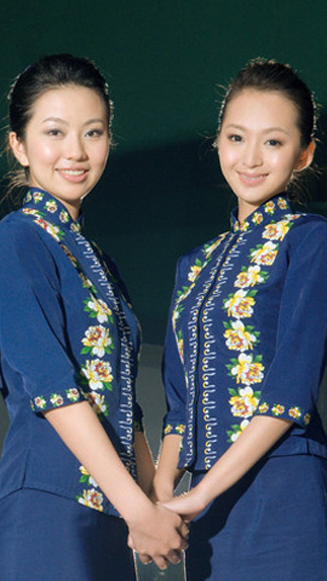 Japanese flight attendants Aviation Galaxy S5 Wallpapers 1080x1920