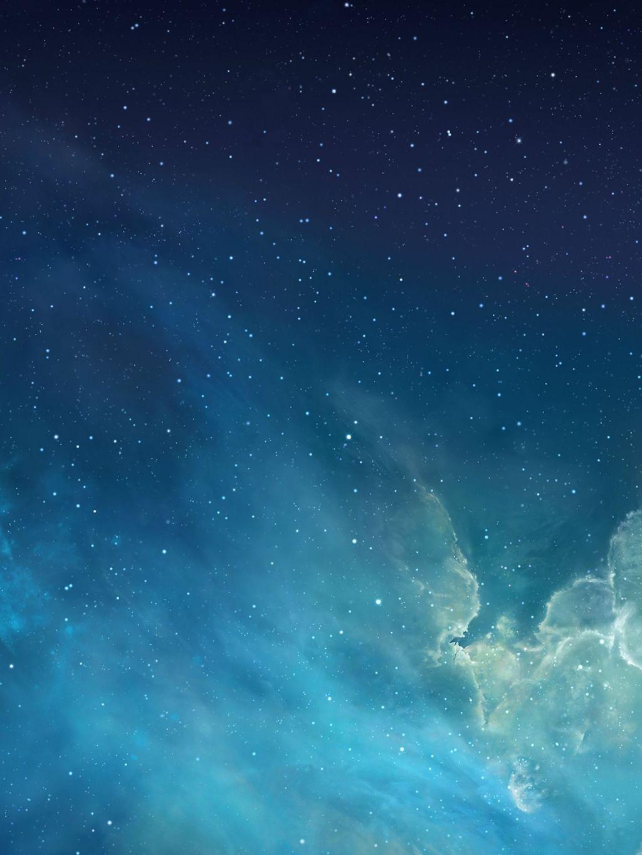 iOS 7 starry wallpaper [1536x2048] Iwallpaper Wallpapers Pictures 1024x1365
