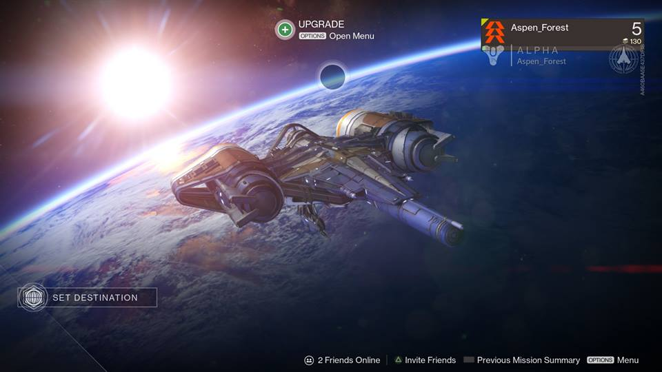 Played the Destiny Alpha Up Down Left Right Play 960x540