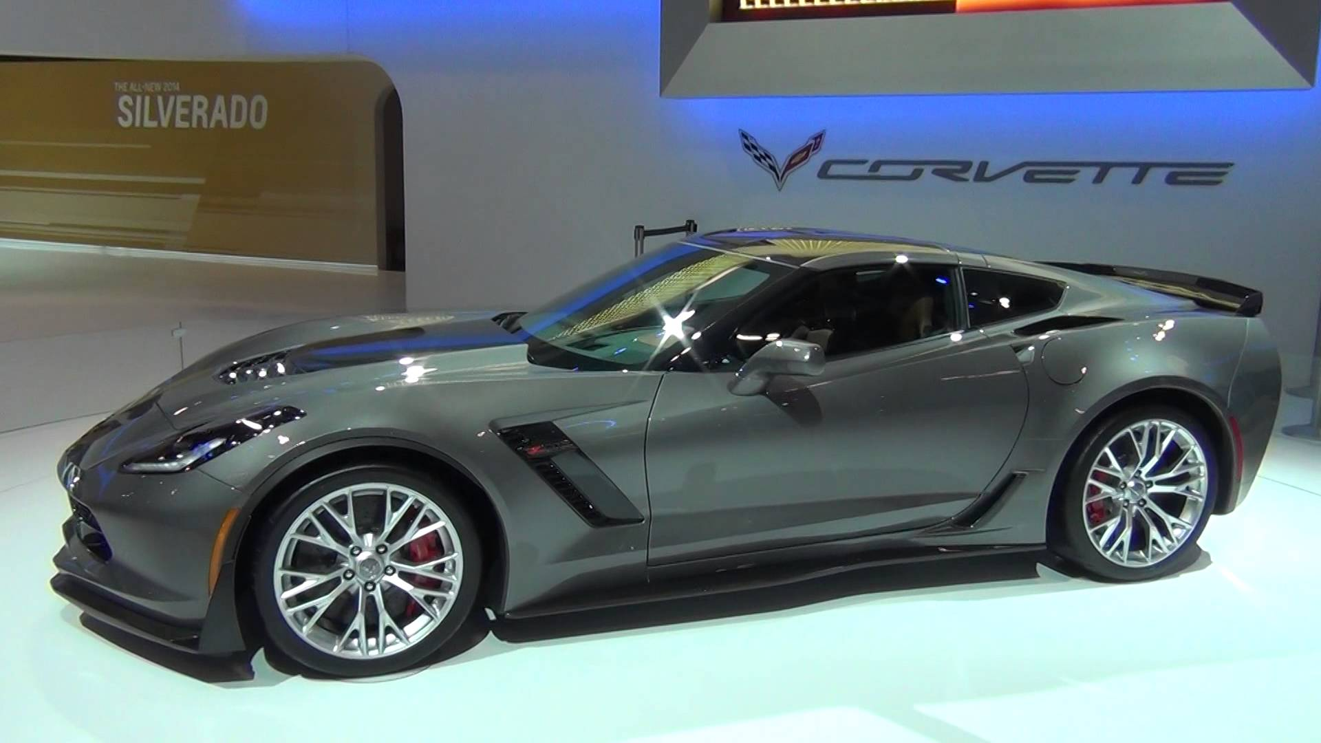 MOTRFACEcom   2015 C7 Corvette Stingray Z06 Shark Grey Metallic 1920x1080