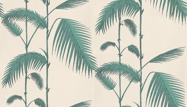 Palm Leaves Wallpaper by Cole Son   Tropical   Wallpaper   by 640x366