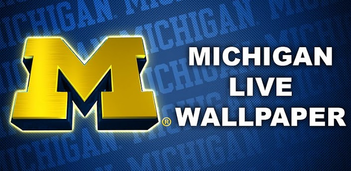 michigan wolverines logo wallpaper   wwwhigh definition wallpapercom 705x345