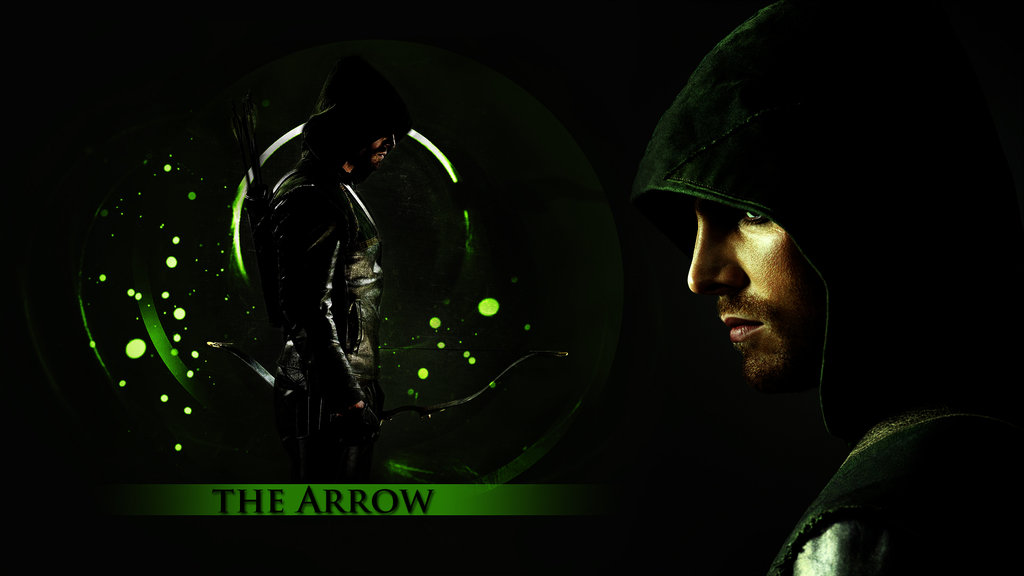 Green Arrow Wallpaper Cw Arrow 1024x576