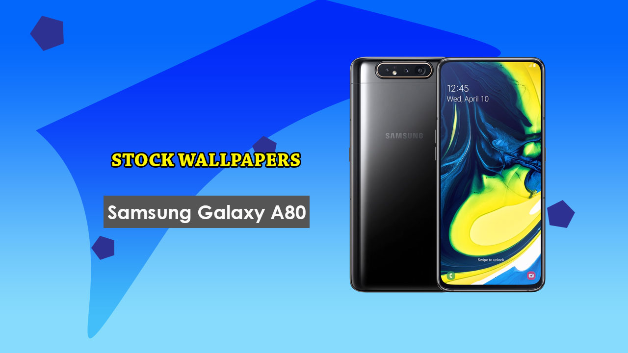 Download Samsung Galaxy A80 Stock Wallpapers in Full HD Gadget 1280x720