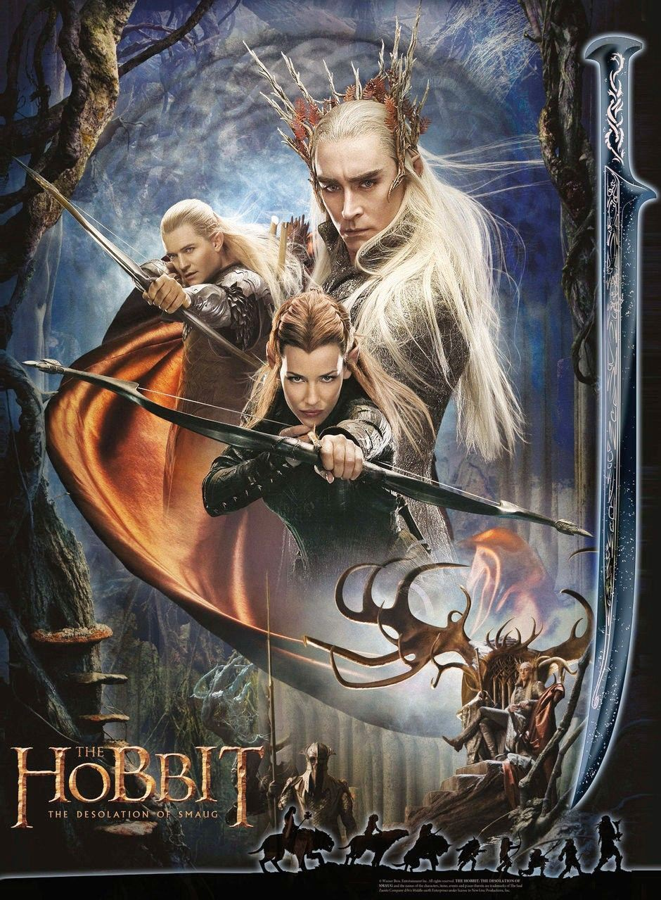 The Hobbit The Desolation of Smaug Movie Wallpaper 16   Apnatimepass 940x1279