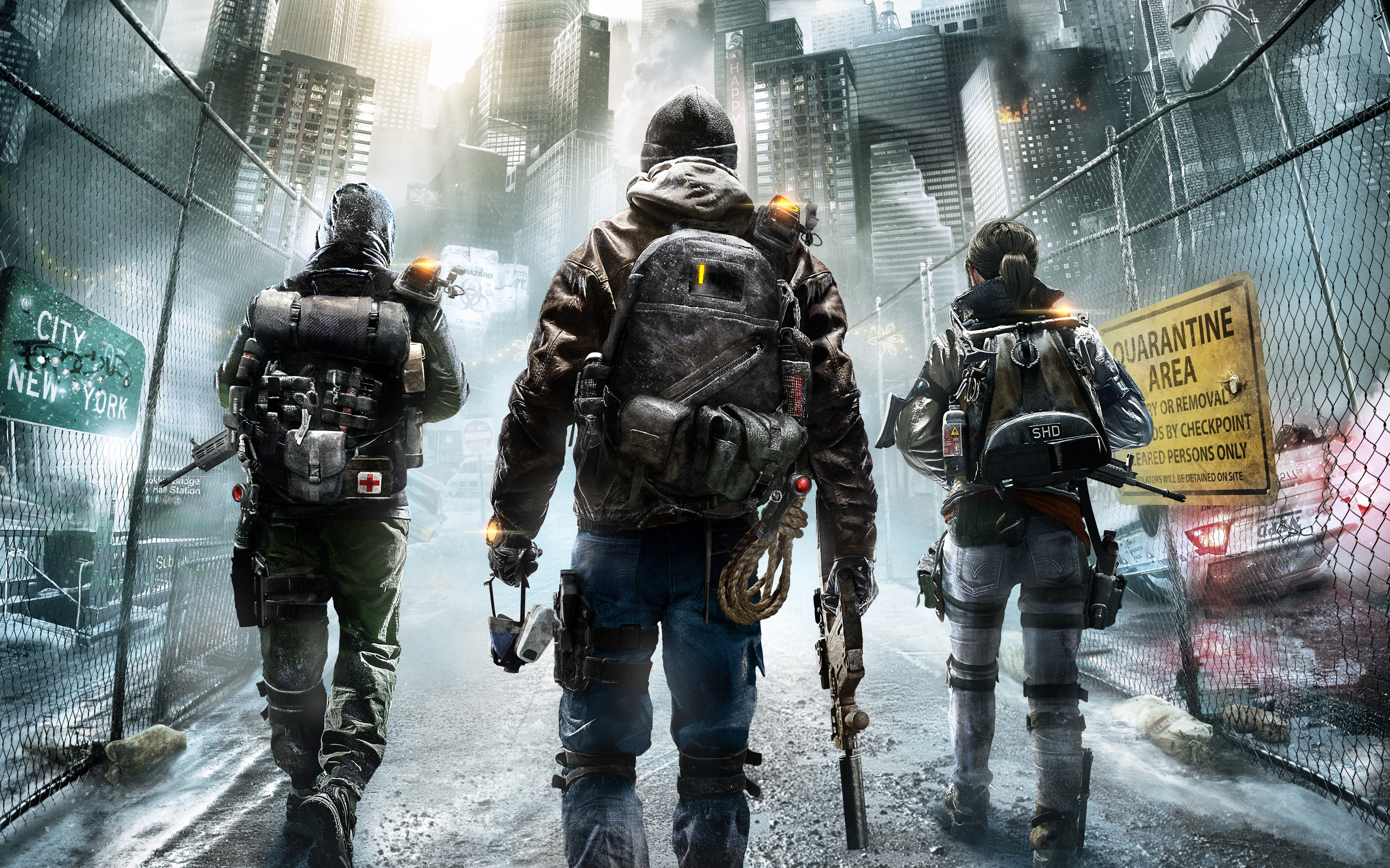 Tom Clancys The Division 2015 Game Wallpapers HD Wallpapers 2880x1800