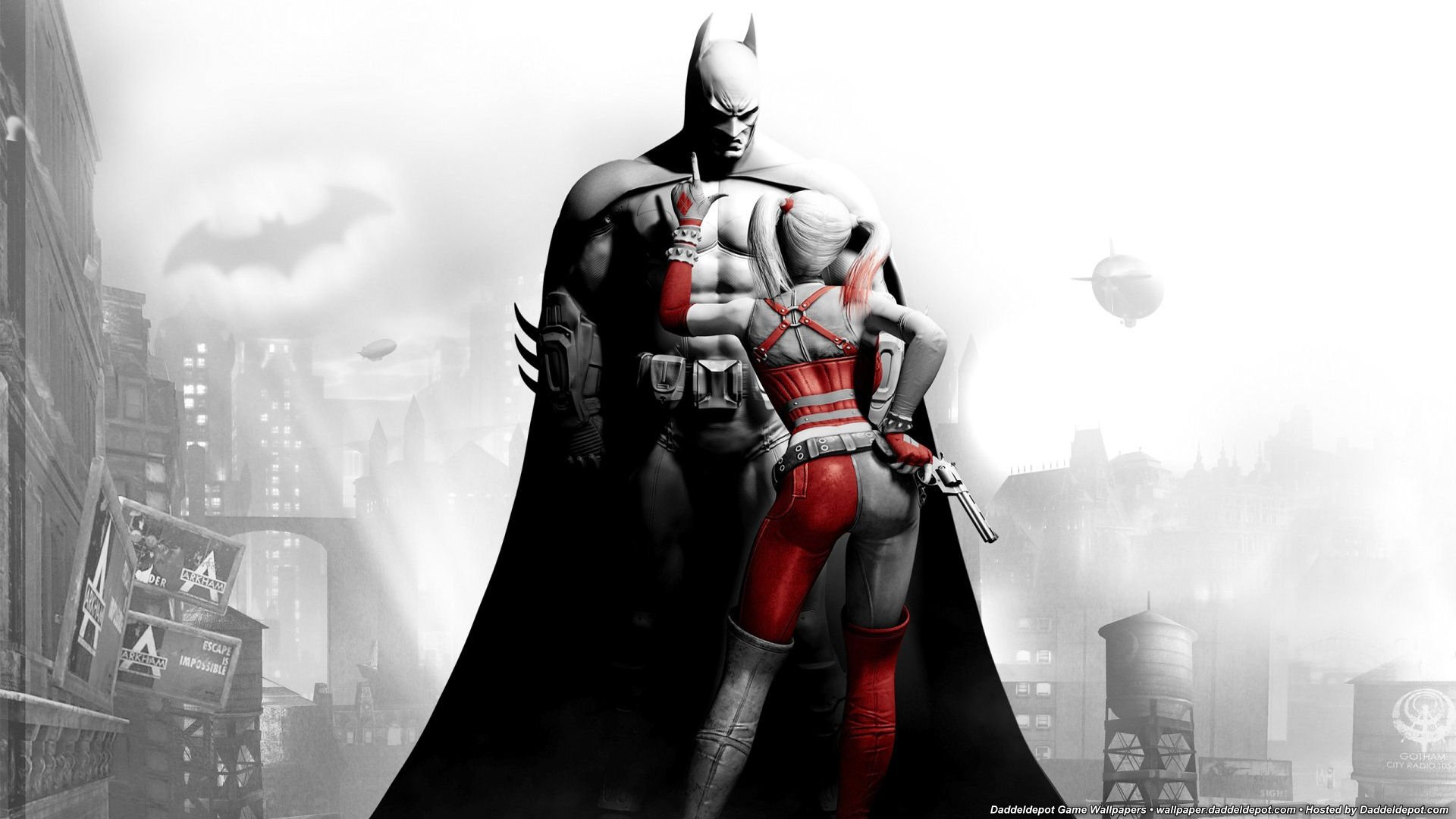 1920x1080 Batman Arkham City desktop PC and Mac wallpaper 1920x1080