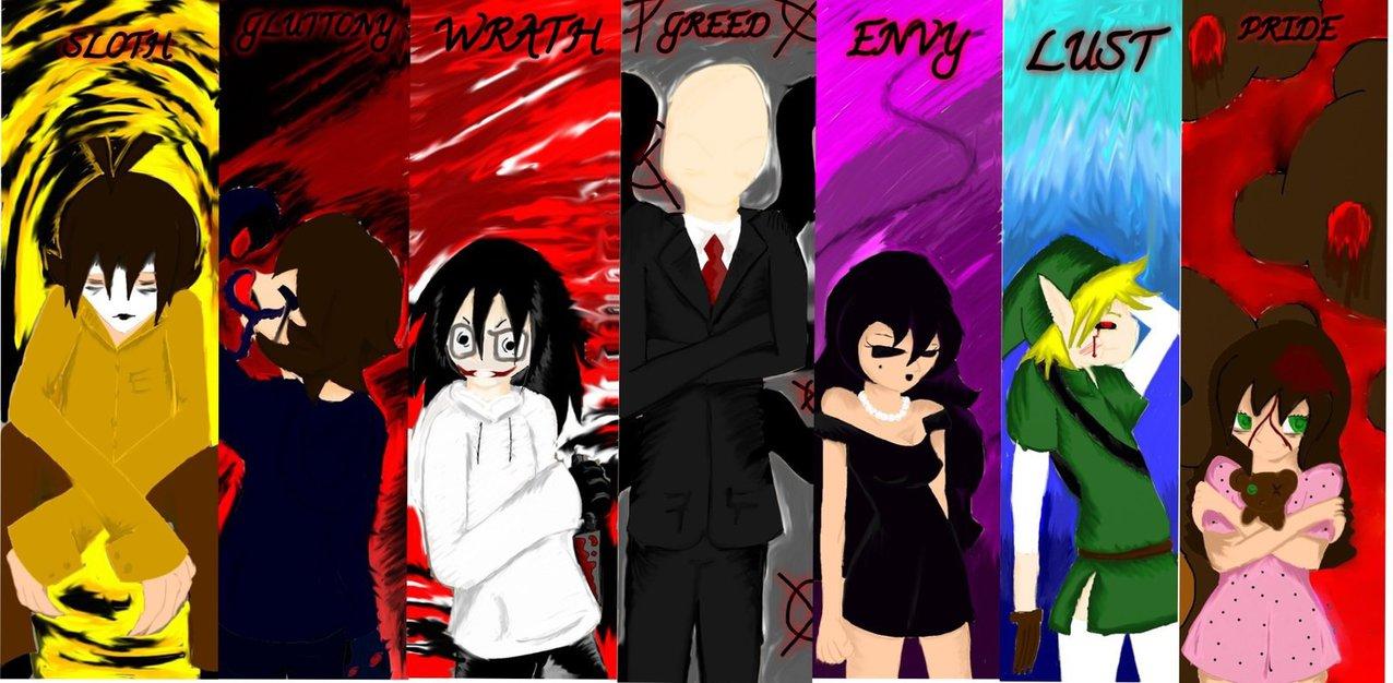 deadly sins Creepypasta by MissyTD 1276x626